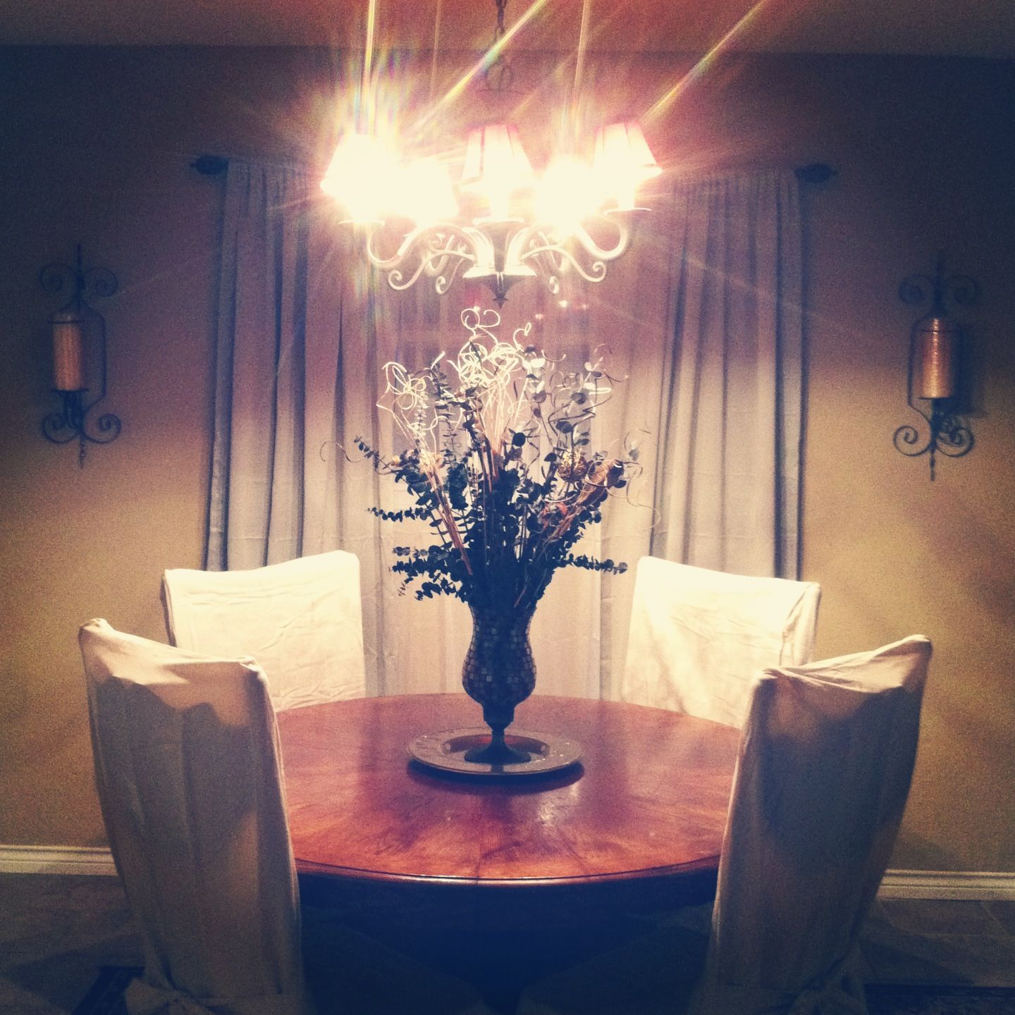 Dining Room Round Table Centerpiece Ideas For The House Pinterest