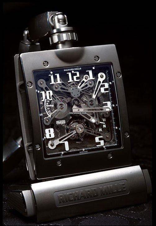 理查德•米勒 (Richard Mille) [NEW+RARE] RM 020 Tourbillon Pocket Watch Titanium (Retail:HK$3,809,000)  詢問價格 Price On Request
