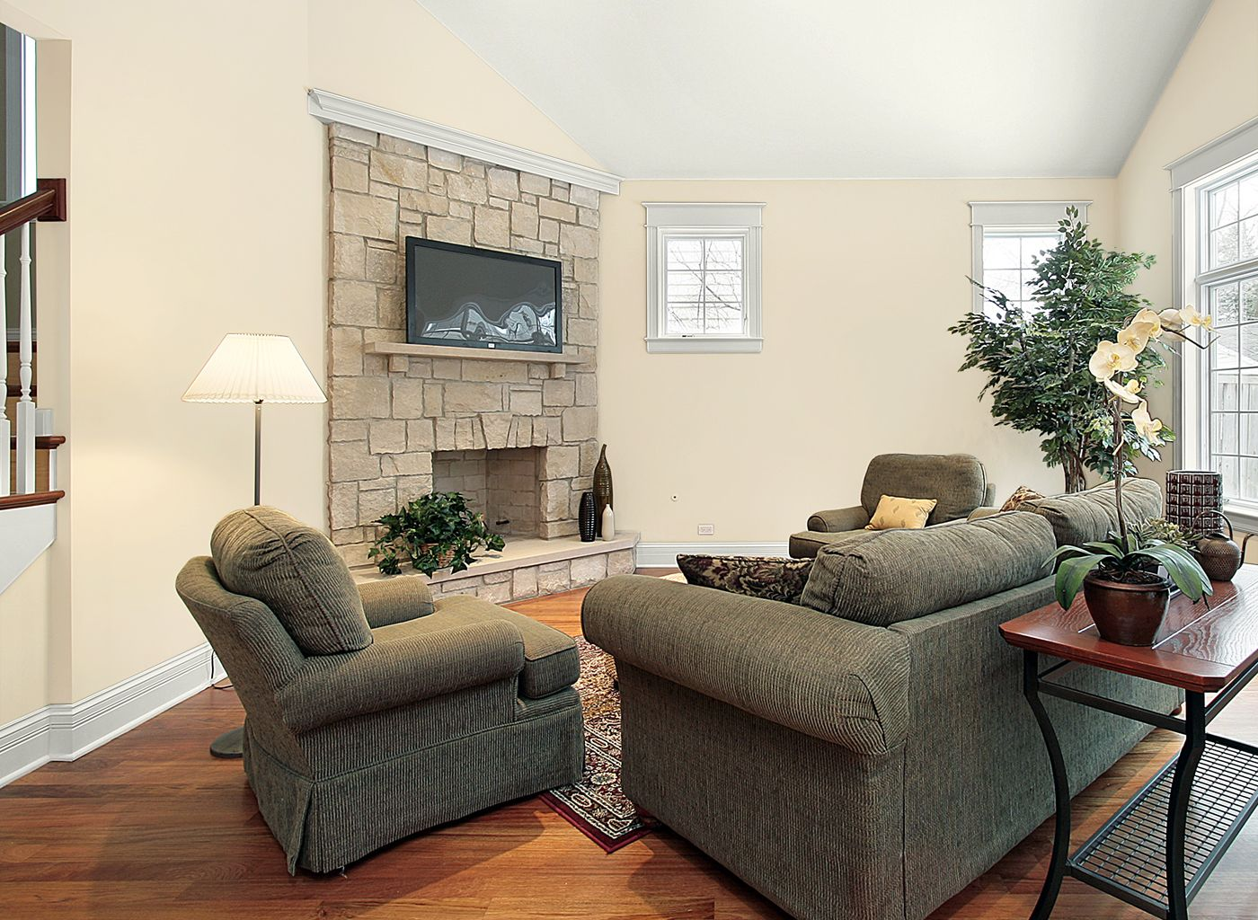 White Wall Living Room Living Room In Cappuccino White This Is The Upstairs