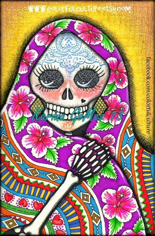 Cultural Reading: Mexico - Geography & Day of the Dead (Día de los Muertos)