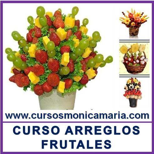 Curso Arreglo Frutal Centro Mesa Frutas Canastas Pinchos
