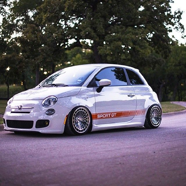 Monster Little Fiat Fiat Abarth 500 Fiat 500 Fiat Fiat 500 Sport