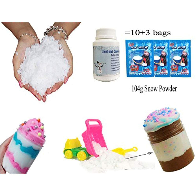 Mlambor 100 Grams Magic Instant Snow Powder Kit and Truck