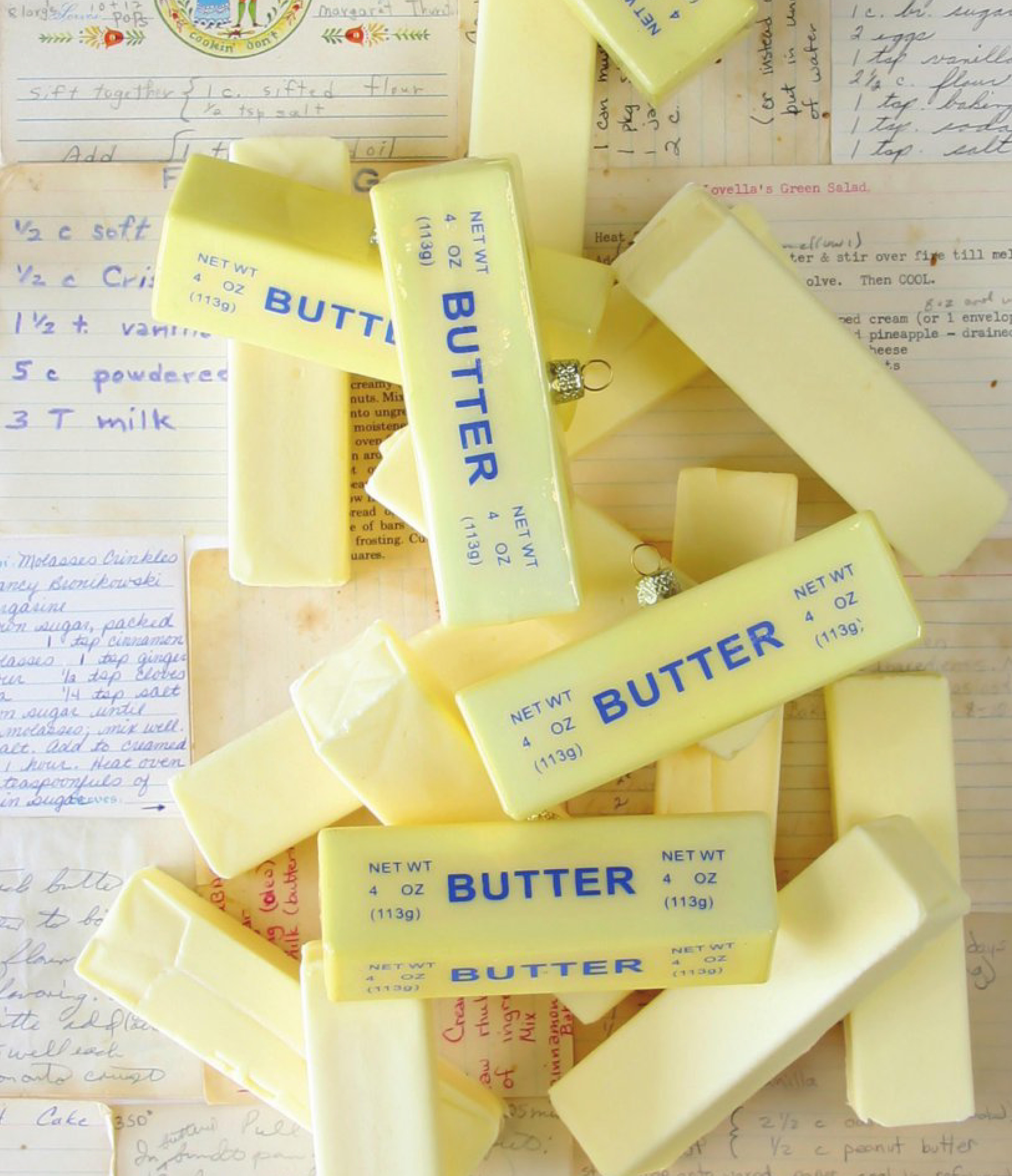 Backorder Stick Of Butter Christmas Ornament Stick Of Butter Christmas Ornaments Christmas