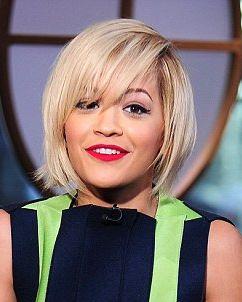 Rita Ora Short Bob Hairstyle Short Hair Styles Hair Hairstyle
