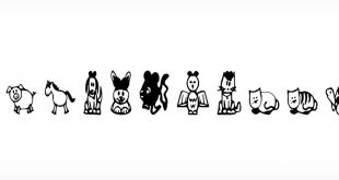 Pet Animals fonts