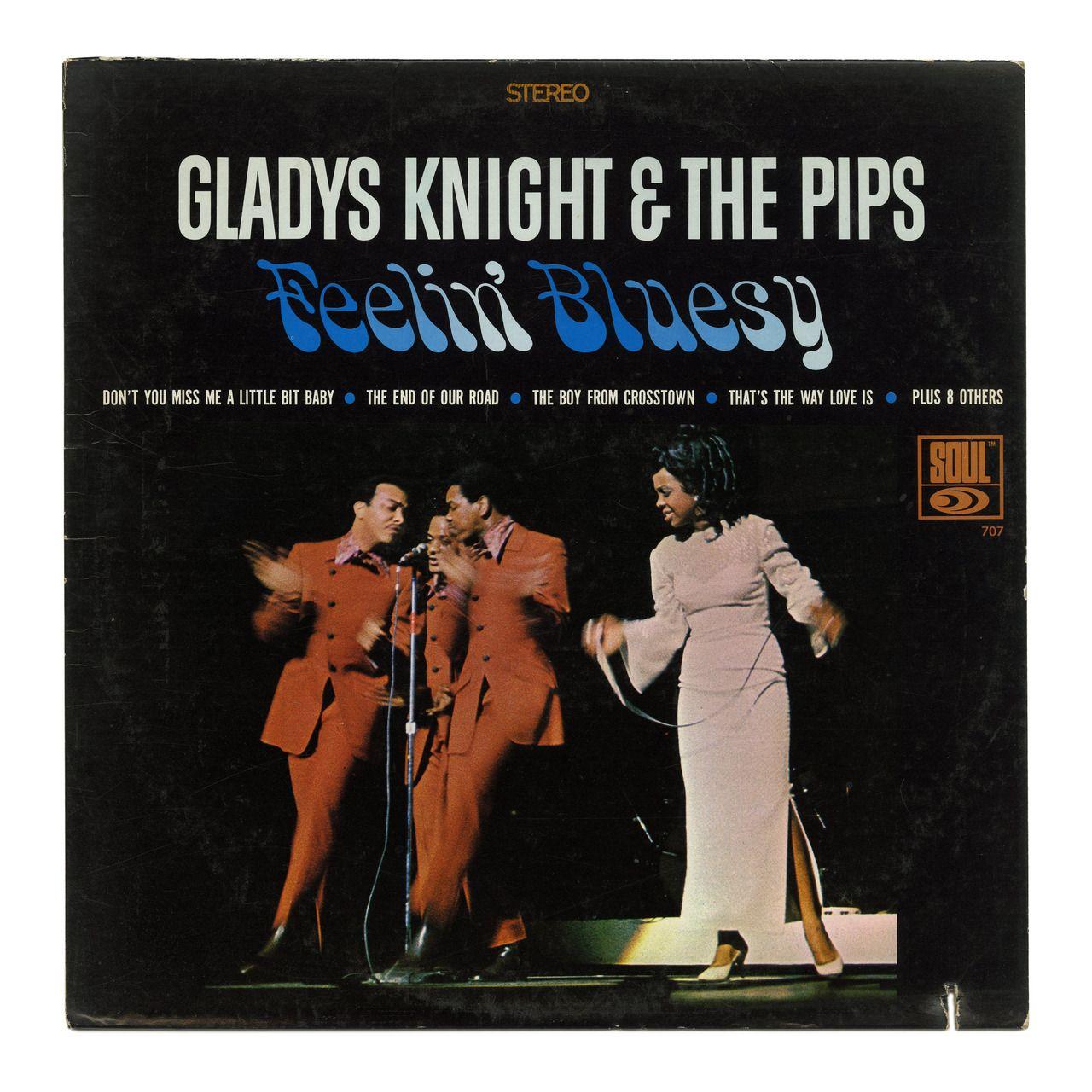 Feelin Bluesy Gladys Knight The Pips Soul Records Usa 1968 Record Store Gladys Knight Records