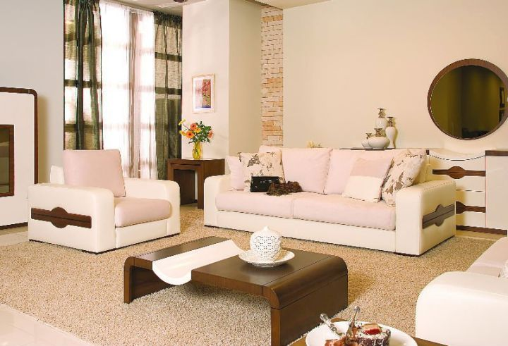 zen living room ideas in white and brown and unique coffee