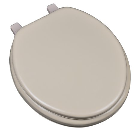 Surprising Bathdecor Deluxe Soft Round Toilet Seat With A Closed Front Pdpeps Interior Chair Design Pdpepsorg