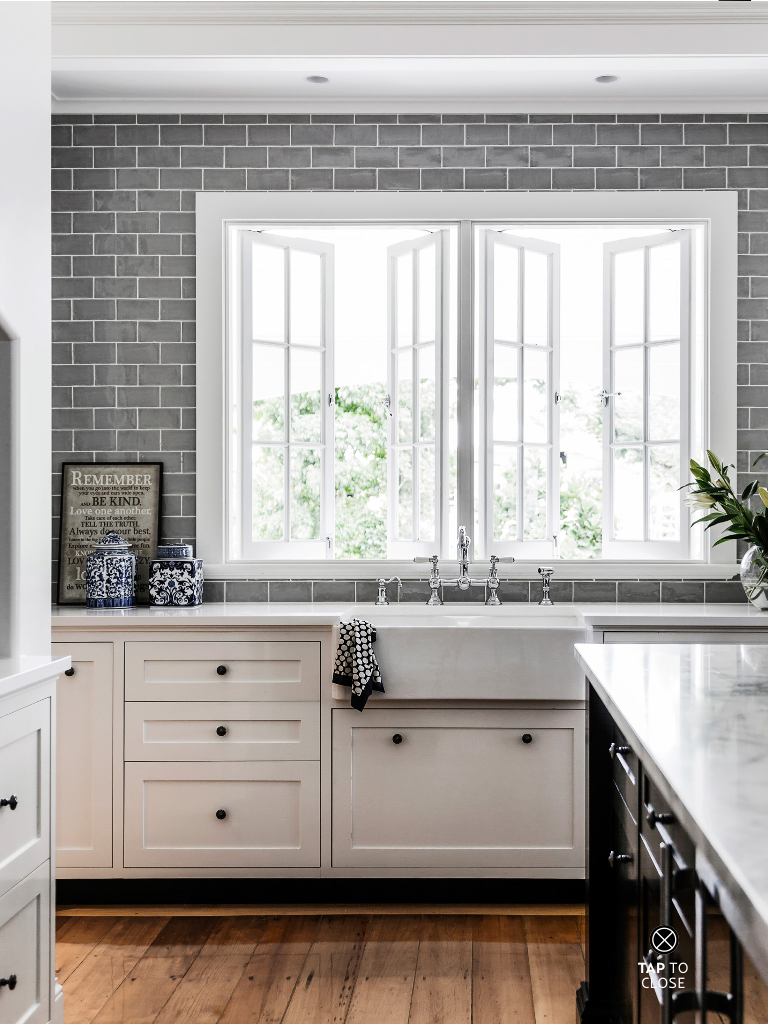 Subway tile wall white cabinets wood floor kitchen concepts subway tile wall white cabinets wood floor dailygadgetfo Image collections