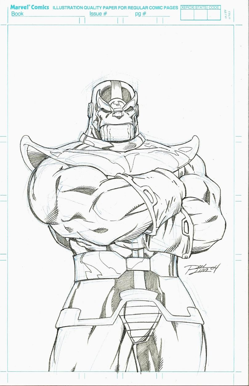 Thanos by ron lim