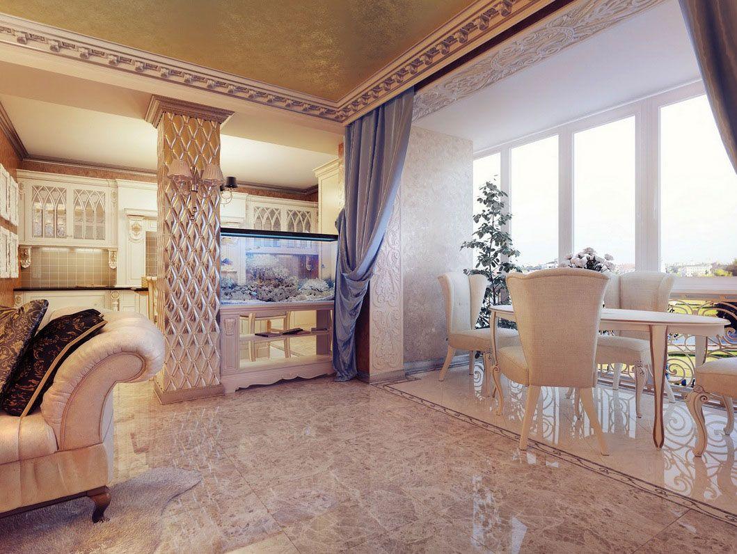 Home interior design royal interior luxurious style home interior design by uglyanitsa