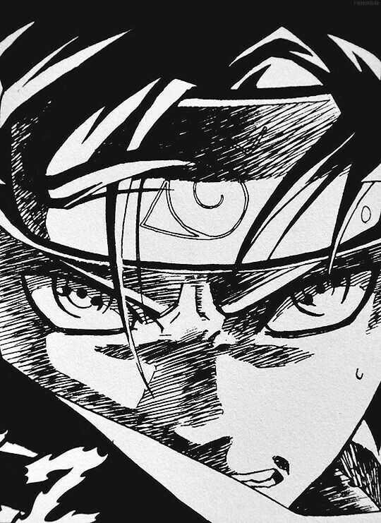 S h a r i n g a n ☣ Sketsa, Naruto uzumaki, Sasuke uchiha