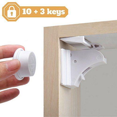 Sécurité placards et tiroirs pour bébés et enfants de NODI HAUTE - installer un cadre de porte