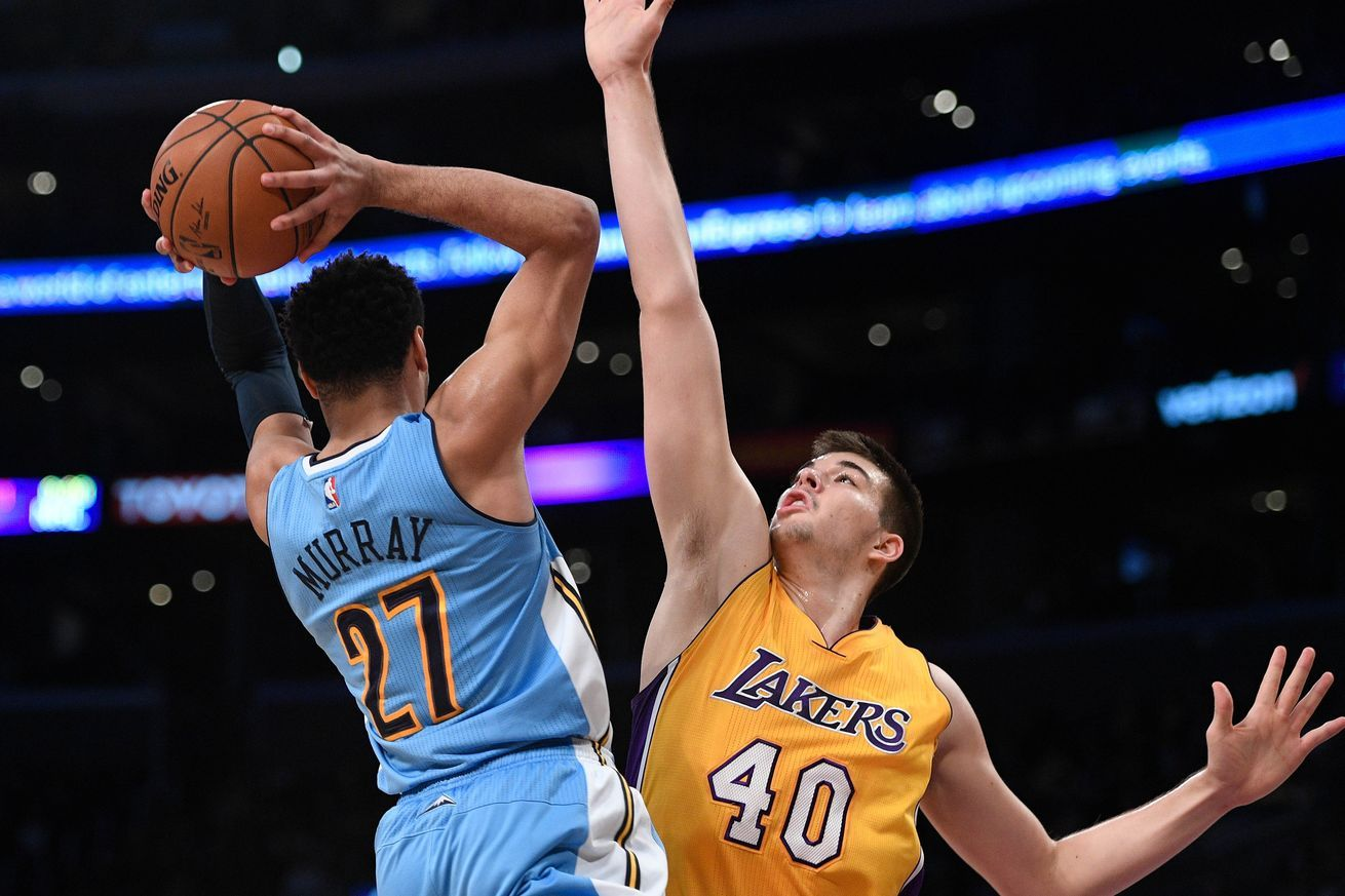 Ivica Zubac has disappeared from the Lakers' rotation
