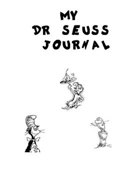 This Is A Journal That Has Activities Pages For The Following Dr Seuss Stories