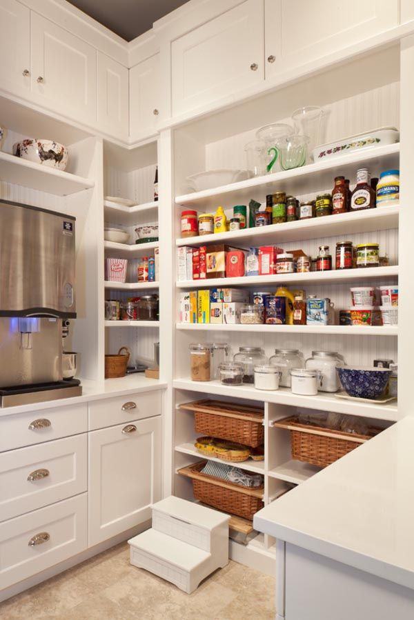 Kitchen Pantry Design Ideas Will Help You Arrange And Organize Your Kitchen  To Be More Neat, Clean And Stylish.