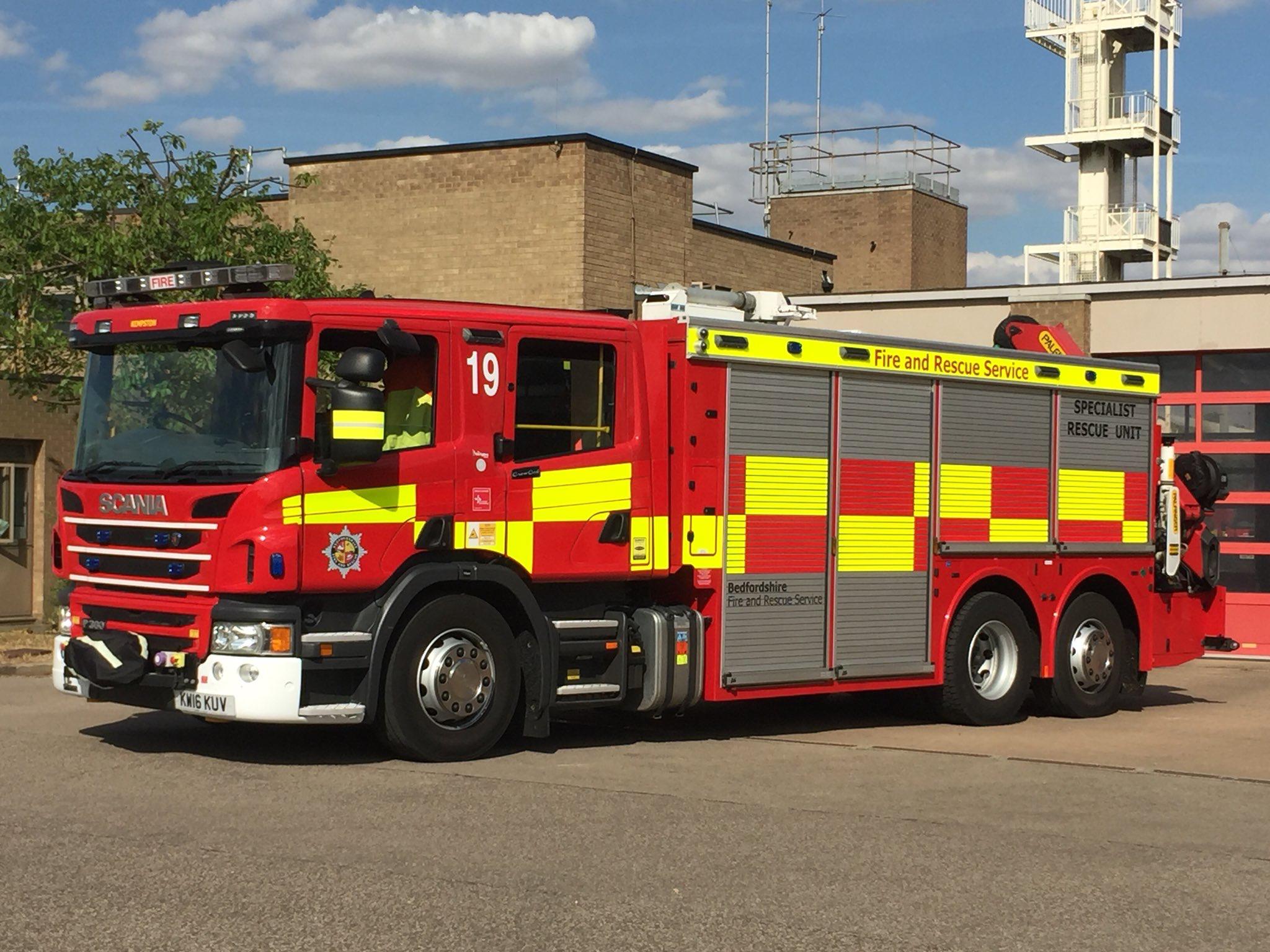 Kempston Community Fire Station Bedfordshire Uk Bedfordshire