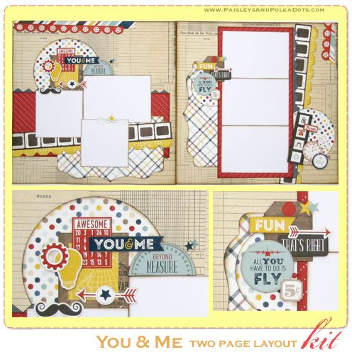 You & Me Two Page Layout
