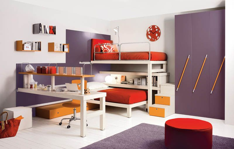 Space Saving Kids Furniture 12 ideias perfeitas para aproveitar melhor o espaço de quartos