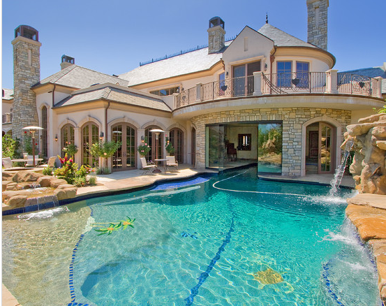 Big Houses With Pools Inside 15 ideas for daunting mediterranean pool designs | indoor pools
