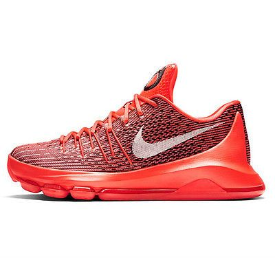 buy popular 36588 c1432 Nike KD 8 Bright Crimson Mens 749375-610 Red Durant Basketball Shoes Size  12.5