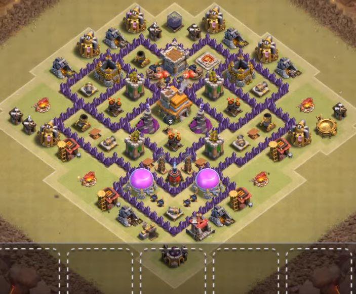 25 Best Th7 War Base Links 2020 New Anti 3 Stars Dragon Clash Of Clans War Good Evening Greetings