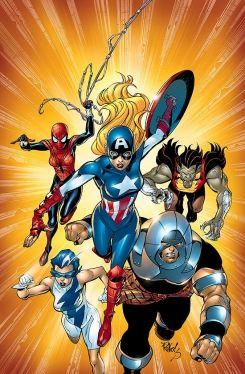 American Dream (Character) - Comic Vine   Diverse Super Heroes