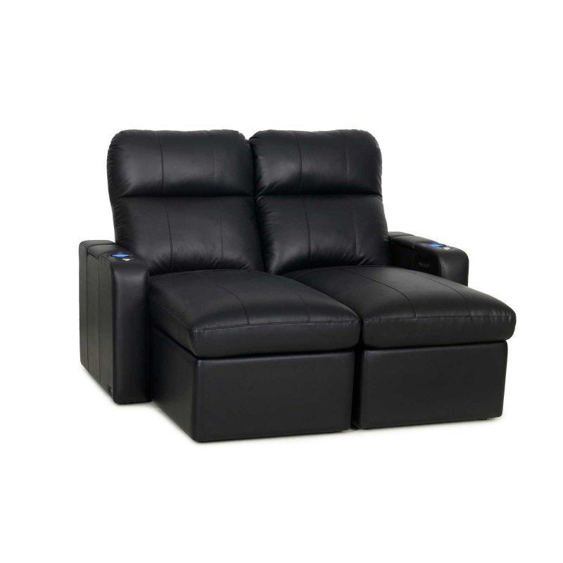 Octane Seating Turbo XL700 Power Reclining Loveseat Chaise Home Theater