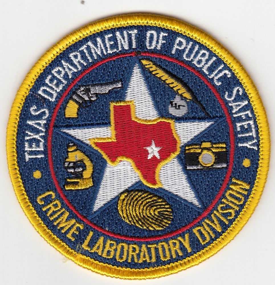 TEXAS DEPT PUBLIC SAFETY CRIME LABORATORY DIVISION POLICE