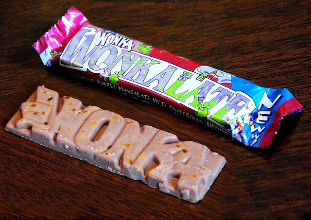 Uk Nestle Wonka Wonkalate Unopened Bar Photo 2001