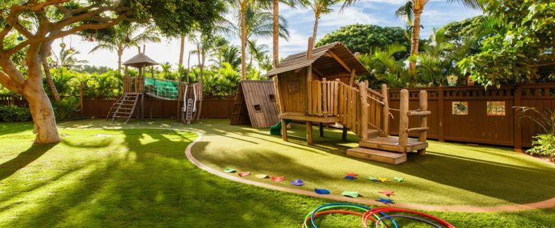 Gartengestaltung Ideen - Einen traumhaften Spielplatz für die Kinder