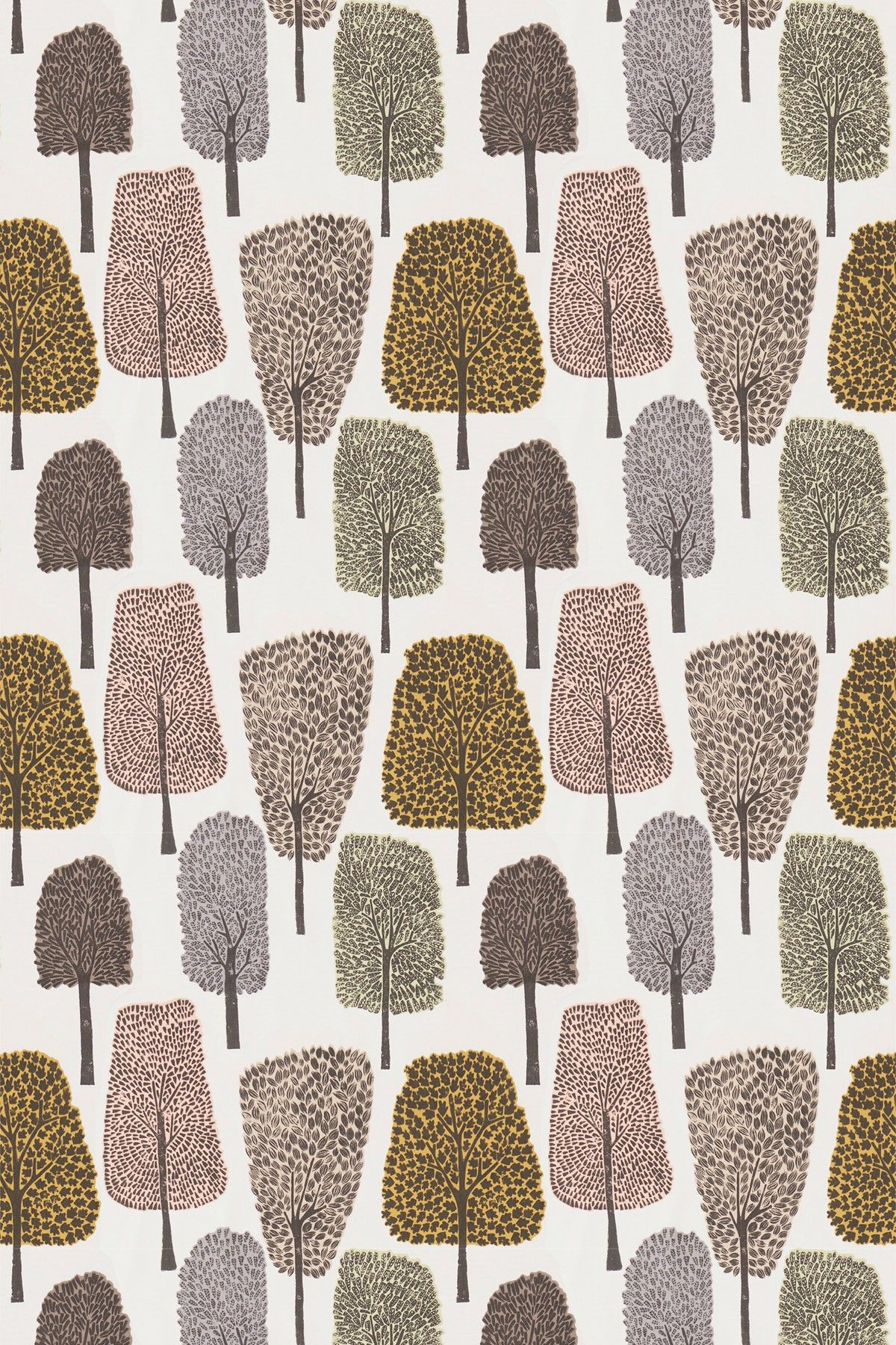 Cedar by scion blush toffee and putty fabric 120357