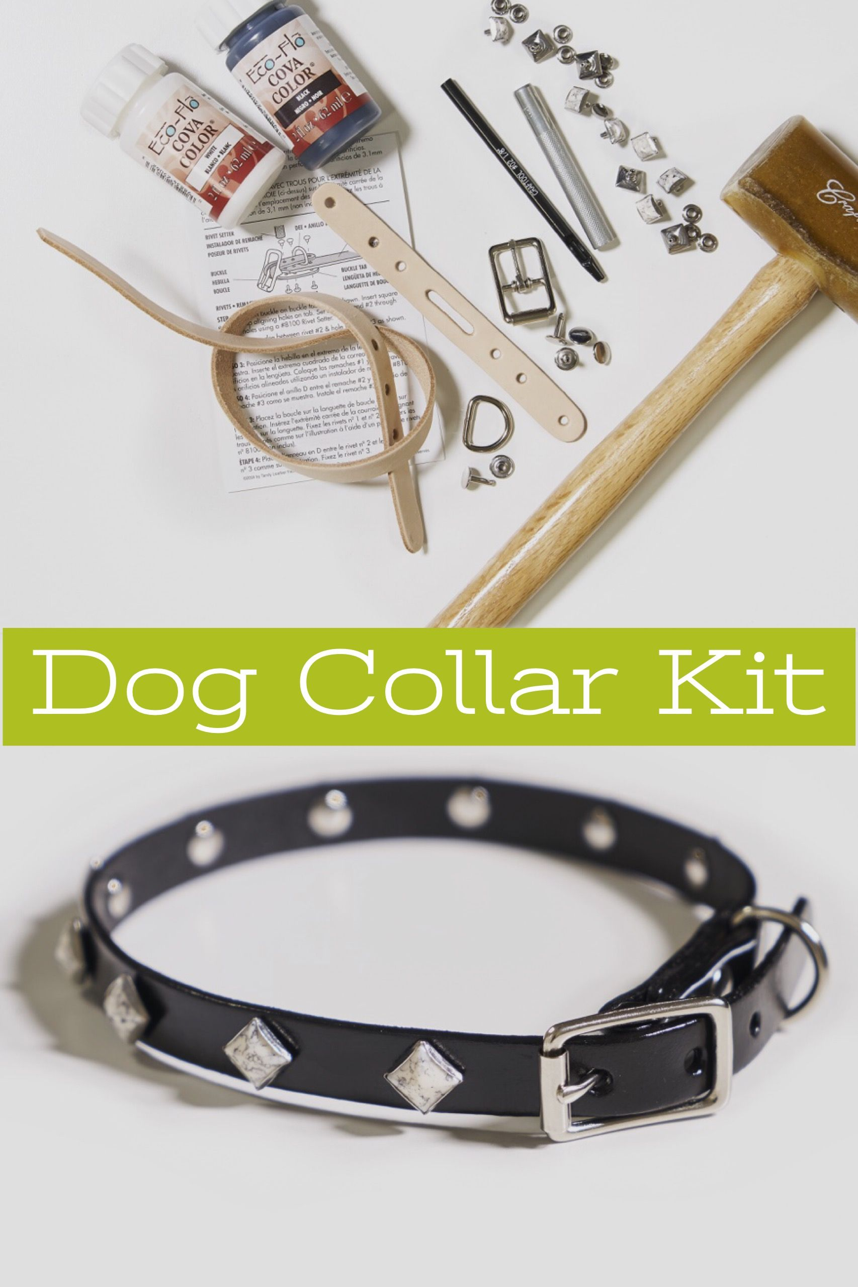 75d334968f3 Cut from top quality belt leather, these collars will last for years ...
