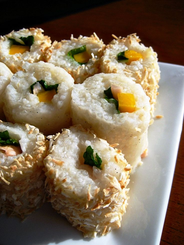 Another Pinner Got Me Nails Diddd I Love The Solid: Another Pinner Pinned: Top 10 Homemade Sushi Recipes