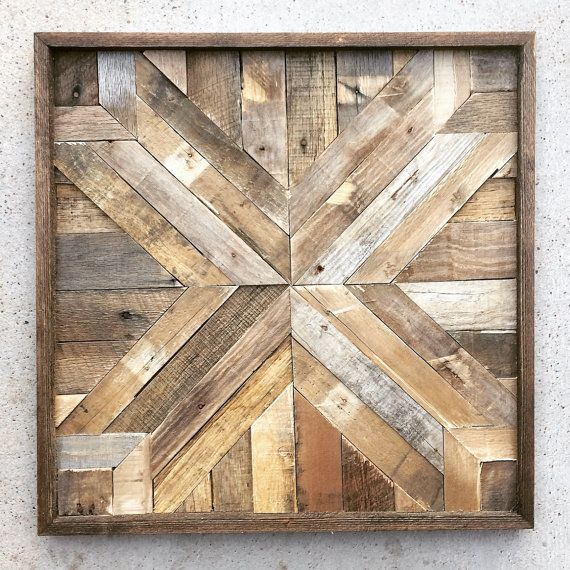Inject Warmth Into Your Home With Reclaimed Wood Wall: This Listing Is For One Handcrafted Piece. Bring The