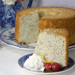 Chiffon Poppy Seed Cake