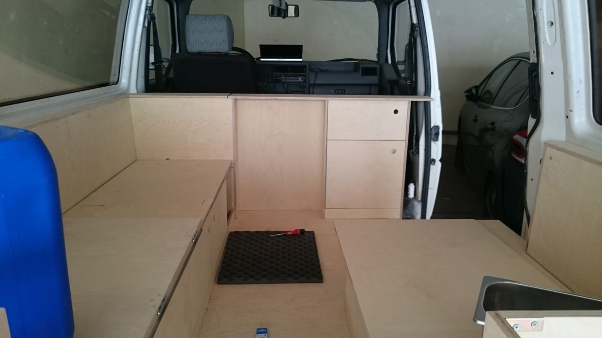 am nager son van bois camping cars pinterest van am nag bois et am nagement. Black Bedroom Furniture Sets. Home Design Ideas