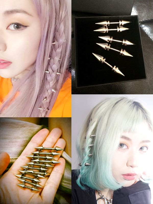 Hair Spikes Clothing Accessories And Jewelry Hair Hair Styles