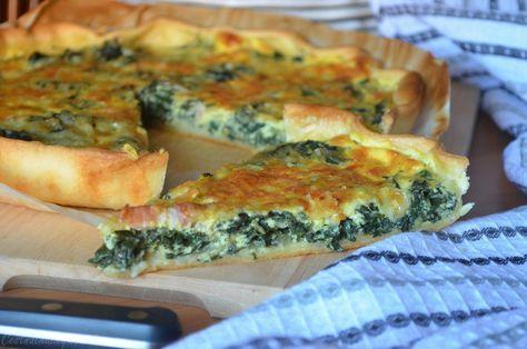 Quiche au vert de blette cuisine anti-gaspi | Recette ...