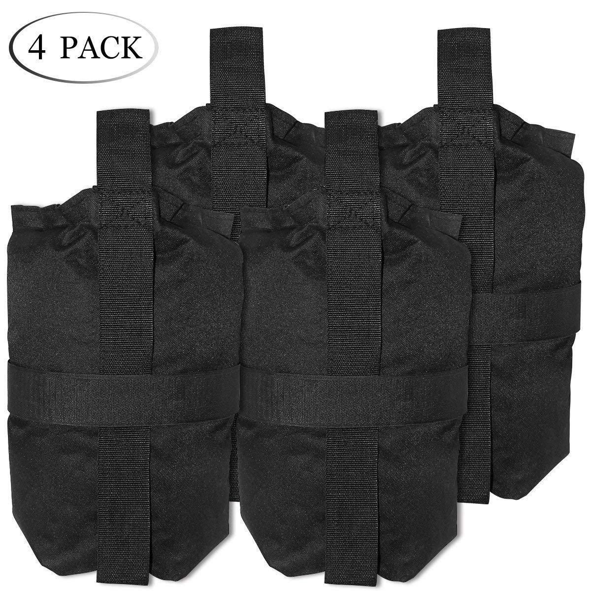 9ec14fb5eafe TopCamp 4 Packs Sand Bags for Camping Tent, Weight Bags for Pop up ...