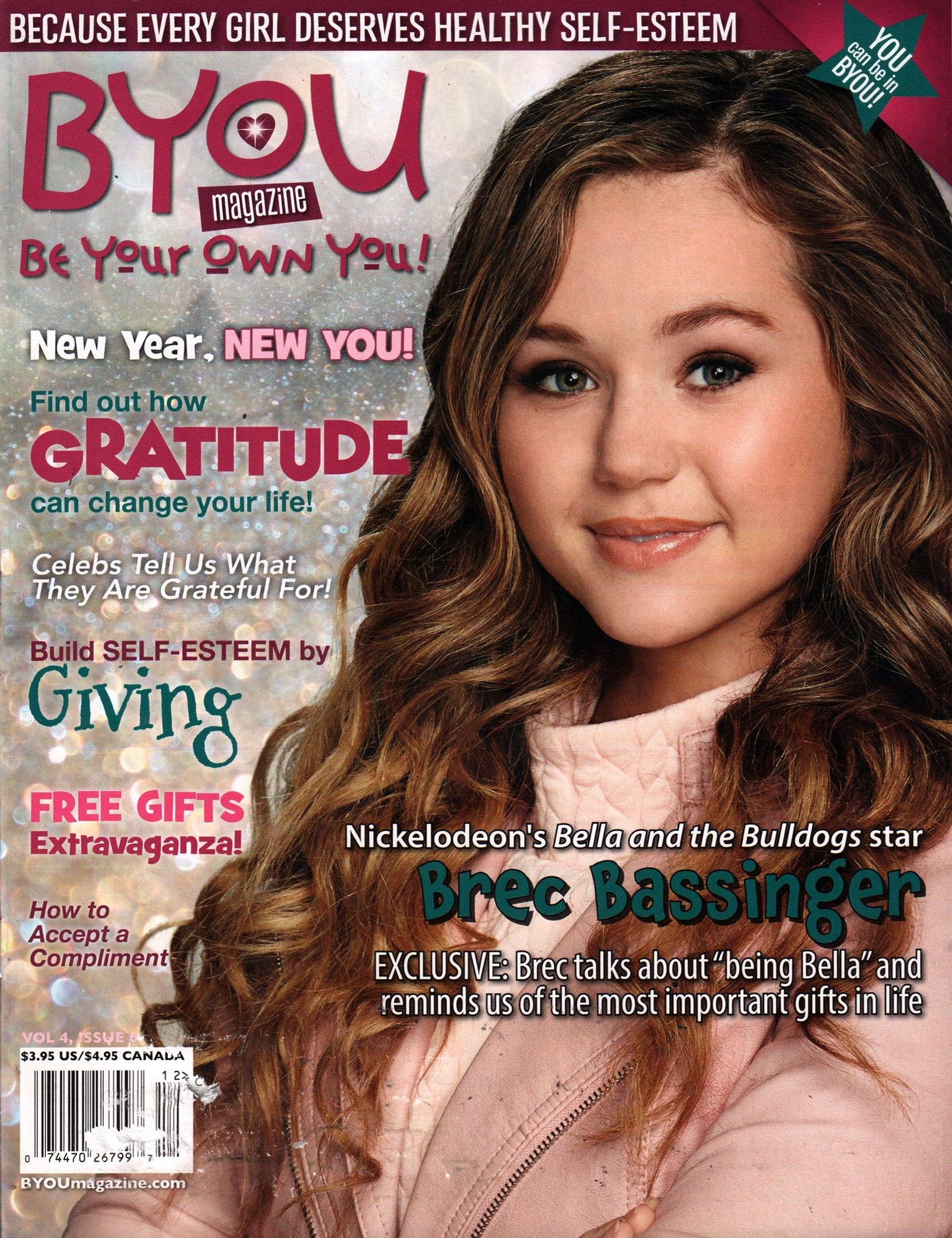 BYOU 'Be Your Own You!' Cover for 12/1/2015