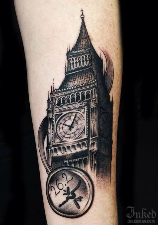 Big Ben | Body centric | Pinterest | Big ben, Tatoo and Tattoo
