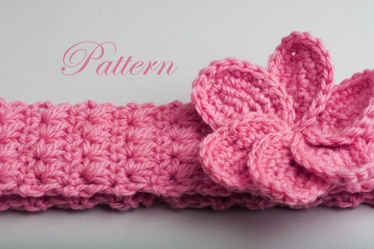 Headband with plumeria flower pattern by tanya shliazhko crochet free pattern for childs headbands free crochet patterns baby headbands i wish i dt1010fo