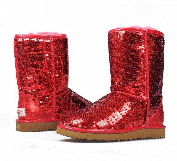 d5777735019 I LOVE MY RED SEQUIN UGG BOOTS!!! | My Style | Winter boots outfits ...