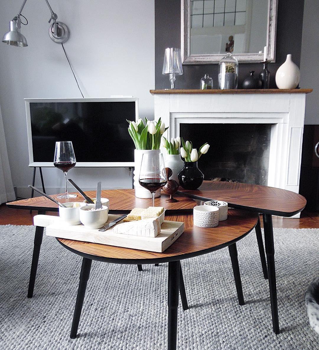 Ikea 'Lövbacken' Retro Side Tables @charlottevanwelsem