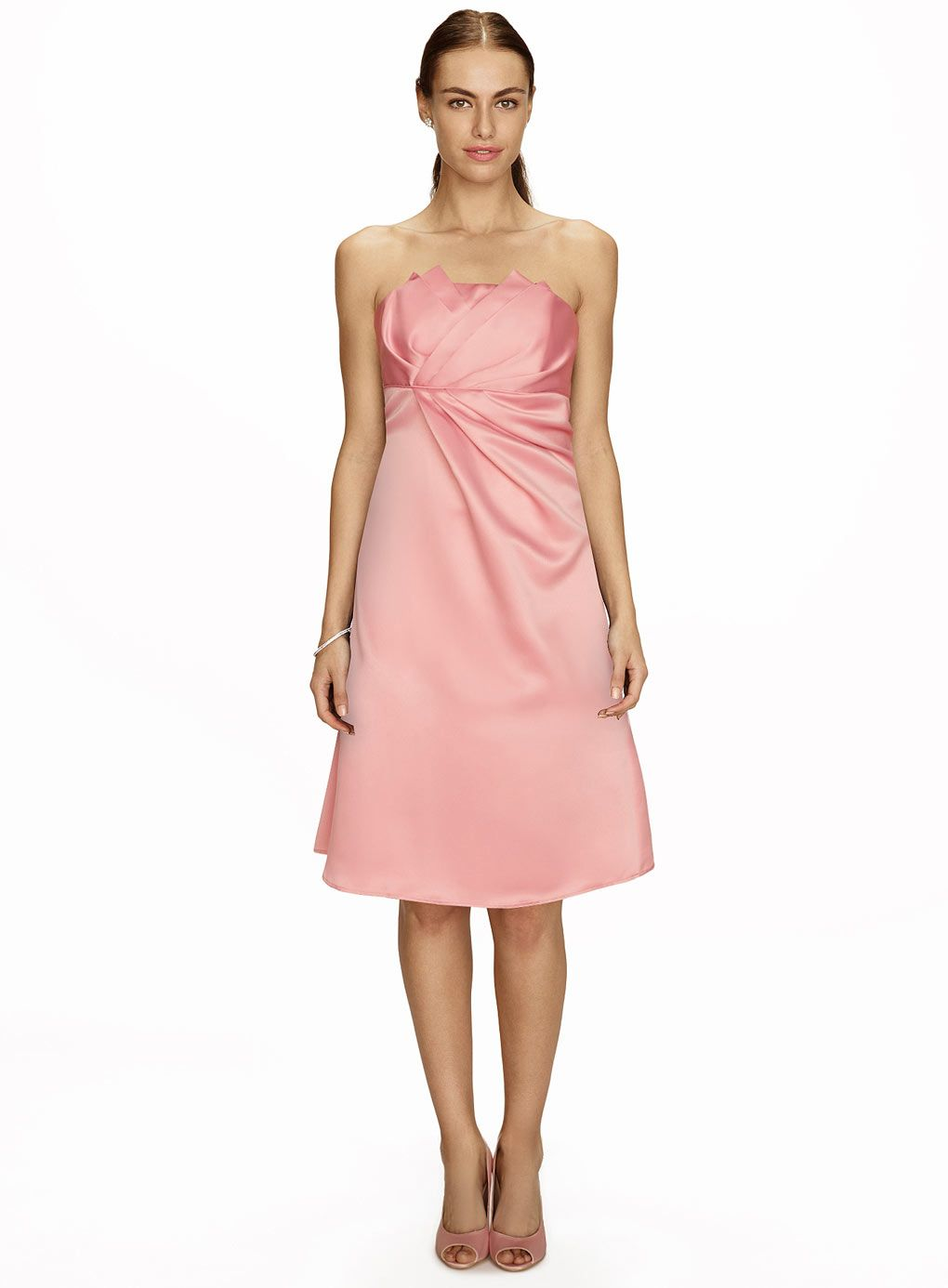 Iris Ballet Pink Short Dress, pink bridesmaid dress http://www ...