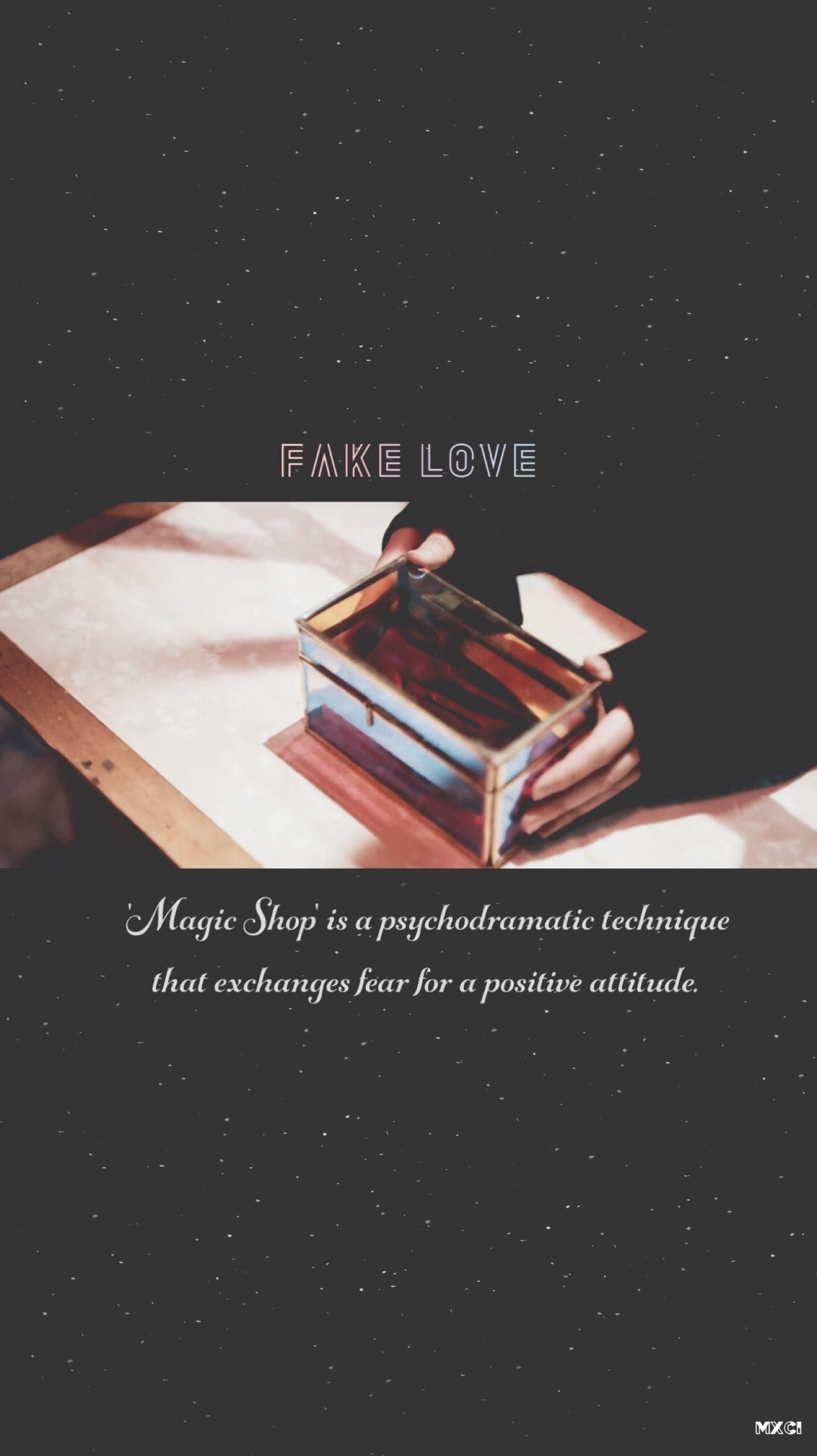 Bts Wallpaper Lytear Fake Love Teaser Just In Case