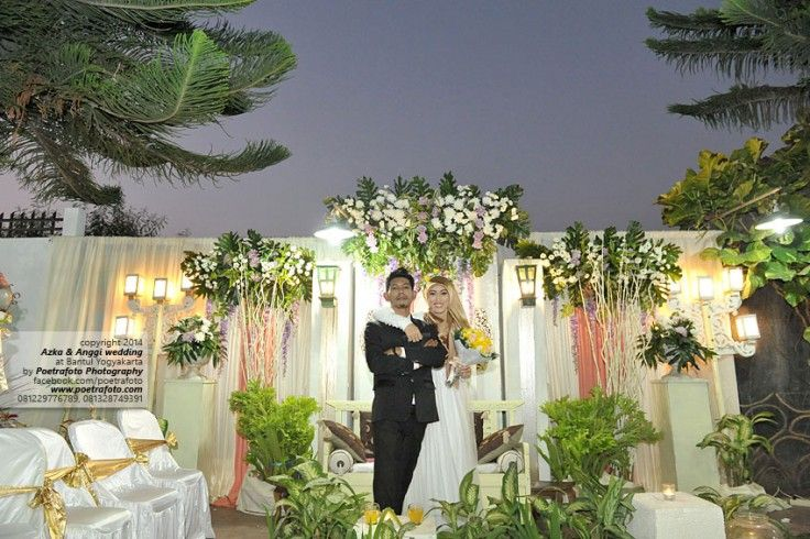 Foto Wedding Muslim Dg Dekorasi Pernikahan Outdoor Di Yogyakarta Decoration Ideas Http