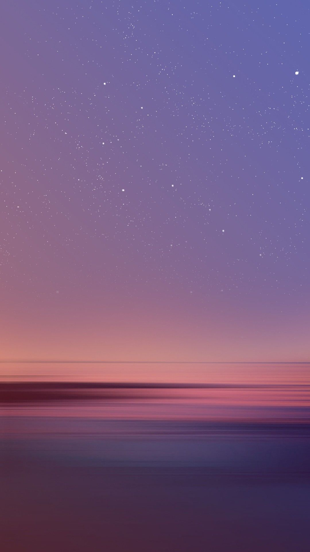 Starflight stars coming out in a serene twilight sky - Twilight wallpaper for iphone ...